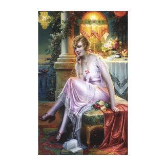 Carlier: Elegant Lady Canvas Print