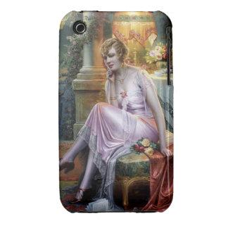 Carlier: Elegant Lady iPhone 3 Case