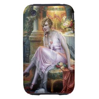 Carlier: Elegant Lady iPhone 3 Tough Case
