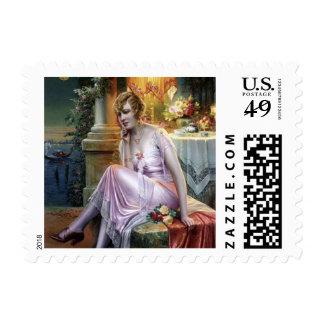 Carlier: Elegant Lady Postage