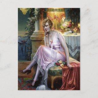 Max Albert Carlier: Elegant Lady