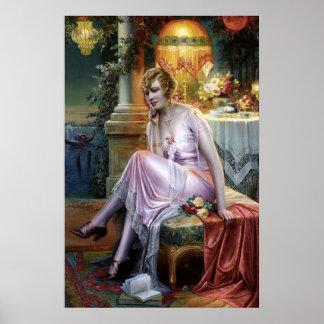 Carlier: Elegant Lady Poster