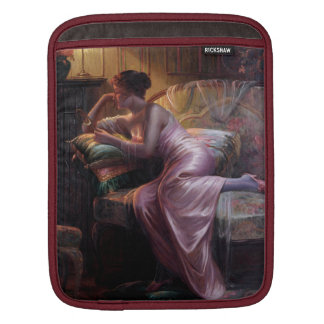 Carlier: Elegant Lady with Mirror Sleeve For iPads