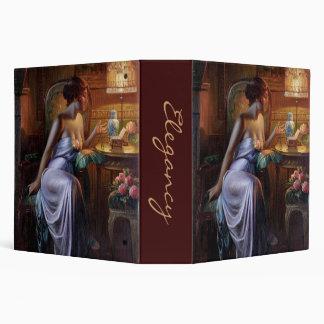 Carlier: Elegant Lady with Necklace Binder