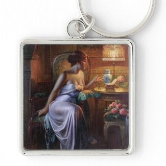 Max Albert Carlier: Elegant Lady with Necklace
