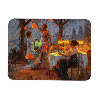 Carlier: Preparing for the Party Rectangular Photo Magnet