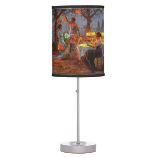 Carlier: Preparing for the Party Table Lamp