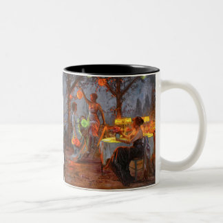 Carlier: Preparing for the Party Two-Tone Coffee Mug