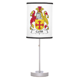 Carlill Family Crest Table Lamp
