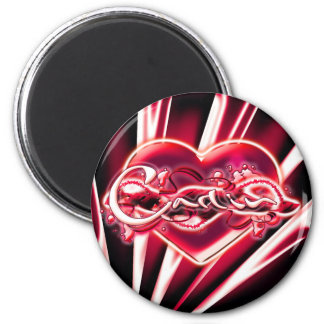 Carlin 2 Inch Round Magnet