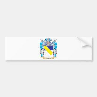 Carlin Coat of Arms - Family Crest Bumper Sticker