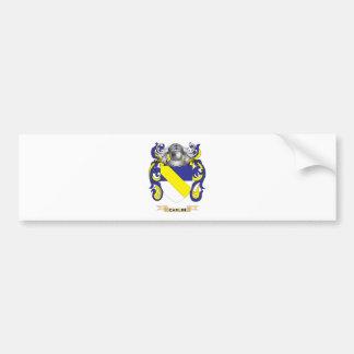 Carlin Coat of Arms (Family Crest) Bumper Sticker