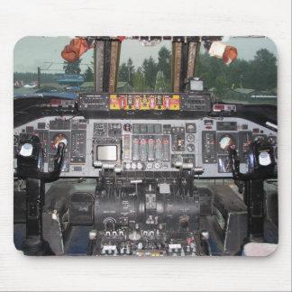 Carlinga de aviones de C141 Starlifter Tapetes De Ratones