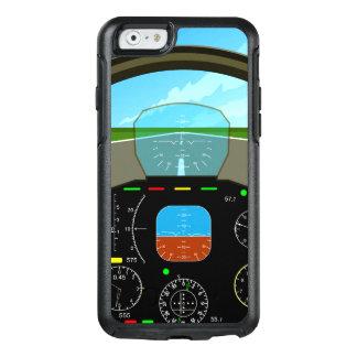 Carlinga del avión de aire funda otterbox para iPhone 6/6s