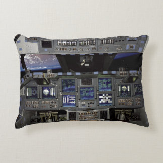 Carlinga del transbordador espacial