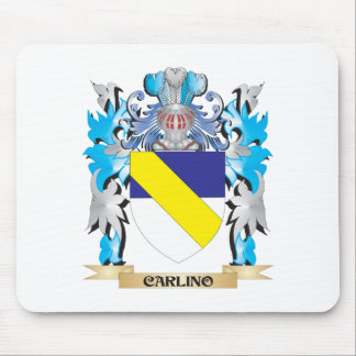 Carlino Coat of Arms - Family Crest Mouse Pad