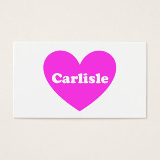 Carlisle Business Card
