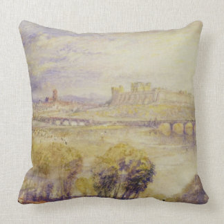 Carlisle, c.1832 (w/c on wove paper) throw pillows