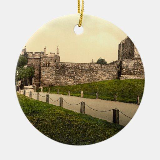 Carlisle Castle, Carlisle, Cumbria, England Christmas Ornament
