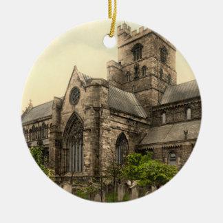 Carlisle Cathedral, Cumbria, England Christmas Tree Ornaments