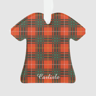 Carlisle clan Plaid Scottish kilt tartan Ornament