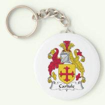 Carlisle Family Crest Keychain