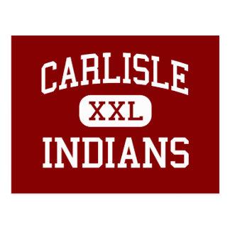 Carlisle - Indians - Elementary - Carlisle Indiana Postcard