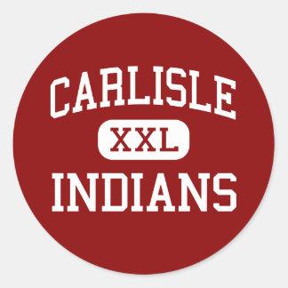 Carlisle - Indians - Elementary - Carlisle Indiana Sticker