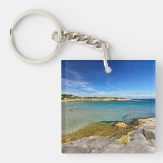Carloforte - La Bobba beach Keychain