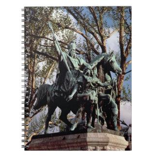 Carlomagno Carolus Magnus Charles el grande 7 Libros De Apuntes Con Espiral