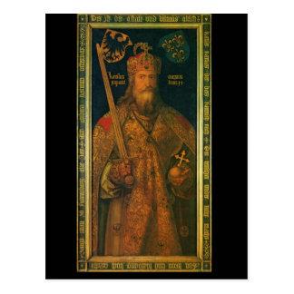 Carlomagno por la postal de Dürer