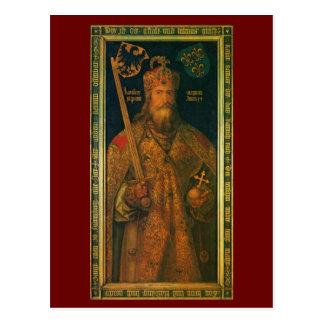 Carlomagno por la postal de Durer