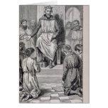 Carlomagno y los muchachos tarjetón