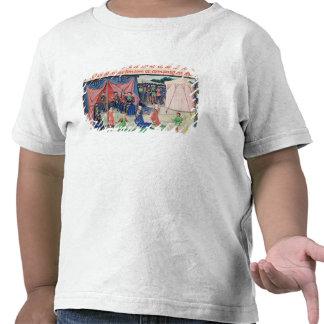 Carlomagno y sus barones que son encantados camisetas