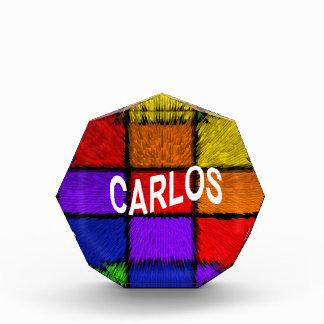 CARLOS AWARD