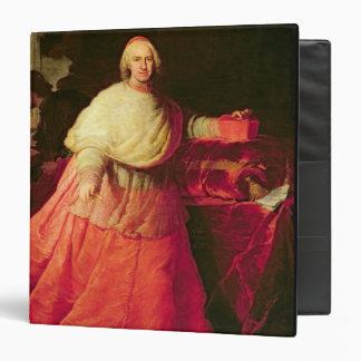 """Carlos cardinal de Borja, c.1721 (aceite en lona) Carpeta 1 1/2"""""""