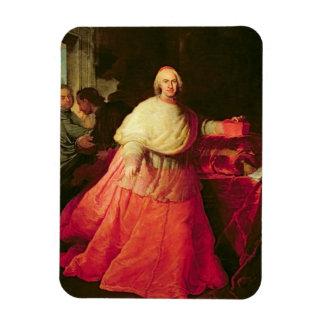 Carlos cardinal de Borja, c.1721 (aceite en lona) Imán De Vinilo