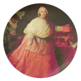 Carlos cardinal de Borja, c.1721 (aceite en lona) Platos De Comidas