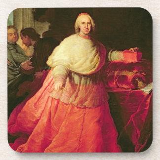 Carlos cardinal de Borja, c.1721 (aceite en lona) Posavasos
