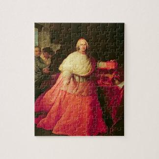 Carlos cardinal de Borja, c.1721 (aceite en lona) Rompecabeza