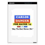 Carlos Danger For Mayor '13 Best Weiner Win iPad 2 Skins
