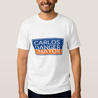 Carlos Danger For Mayor - Men's Tees