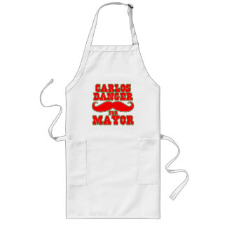 Carlos Danger for Mayor with Mustache Long Apron