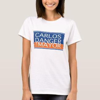 Carlos Danger For Mayor - Women's T-Shirt