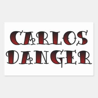 Carlos Danger Rectangular Sticker