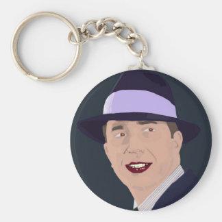 Carlos Gardel - El Rey Del Tango Keychain
