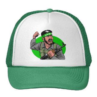 Carlos Latuff's Hamas Fighter Cap Trucker Hat