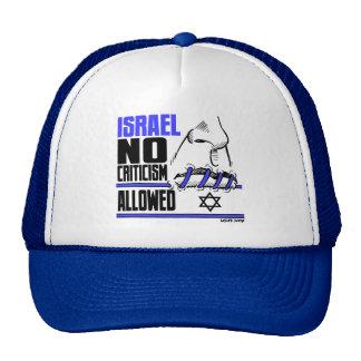 Carlos Latuff's No Criticism Allowed Cap Trucker Hat