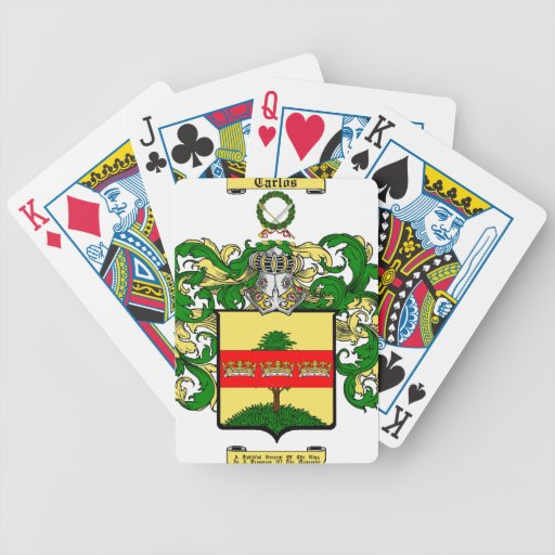 Carlos (MacCarluis) Poker Cards