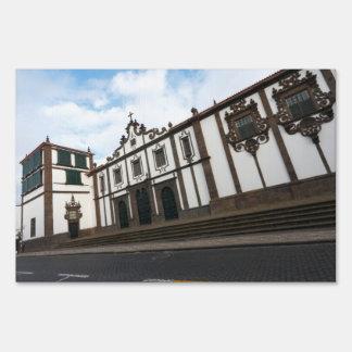 Carlos Machado Museum Lawn Sign
